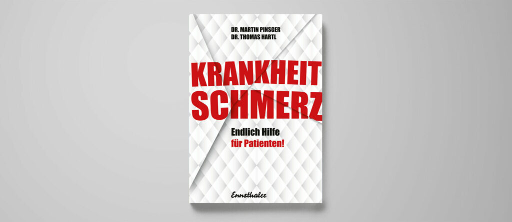 Martin Pinsger, Thomas Hartl: Krankheit Schmerz. Endlich Hilfe für Patienten!, Ennsthaler Verlag Steyr, ISBN 978-3-7095-0126-9, 260 Seiten, 20 Euro