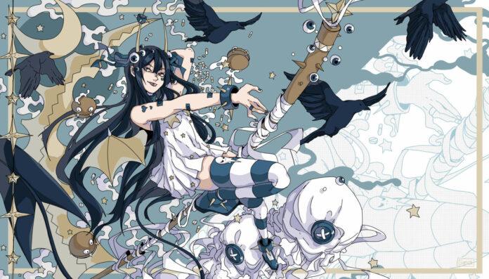 """Regina Schrattmaier ist mit """"Manga-Illustrationen"""" bei """"nextcomic"""" vertreten."""