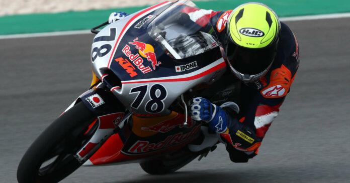 Jakob Rosenthaler fühlte sich auf seiner neuen KTM RC 250 R bereits pudelwohl.