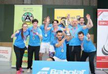 """Nichts für schwache Nerven: Mit zwei Auswärtssiegen im """"Golden Set"""" holte sich Traun den 15. Meistertitel in der heimischen Badminton Bundesliga."""