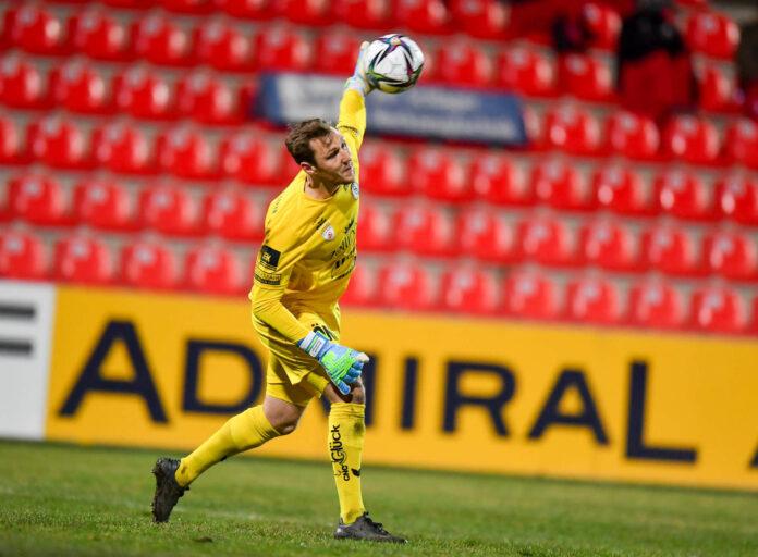 39 von 39 möglichen Pflichtspielen absolvierte Bernhard Staudinger in Serie für Vorwärts Steyr, ein schlechtes Match war kaum einmal dabei.