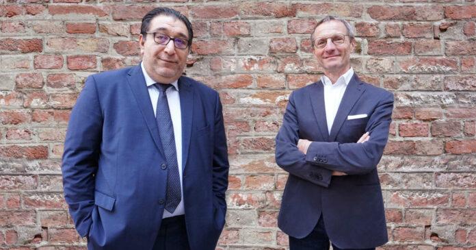 Einigten sich auf die Übernahme: Dragan Janus (links) und Peter Edelmayer (Dussmann Service)