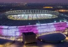 Katars neue Fußballarenen wie das Al-Rayyan-Stadion in der Hauptstadt Doha suggerieren eine ansonsten verweigerte Modernität.