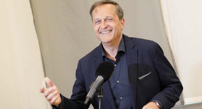 Die Vorfreude auf das Brucknerfest ist groß: Dietmar Kerschbaum, Intendant des Linzer Brucknerhauses