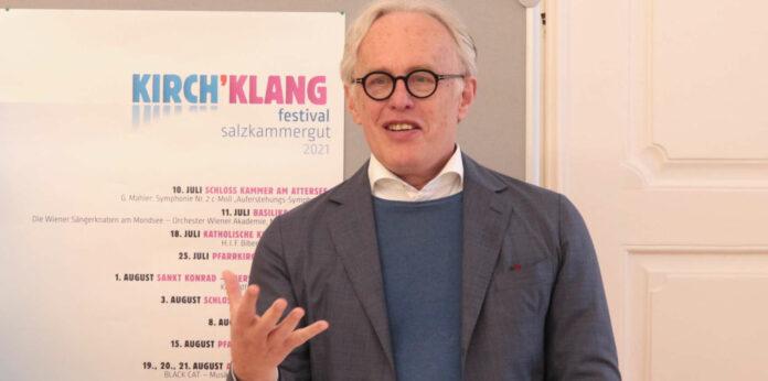 """Schönheit zelebrieren, Künstler unterstützen: Martin Haselböck, künstlerischer Leiter von """"Kirch`Klang"""""""