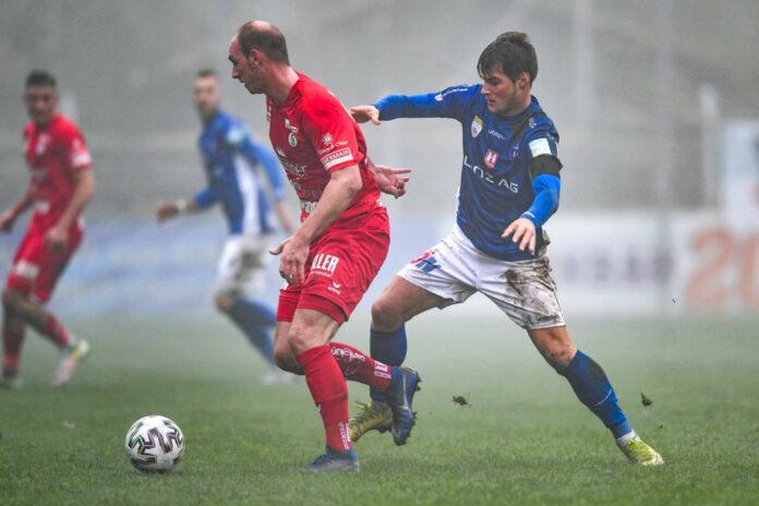 Mehr als vier Jahre trug Nicolas Wimmer (vorne/l.) das Steyr-Trikot, morgen trifft er mit BW Linz auf seinen Ex-Klub.