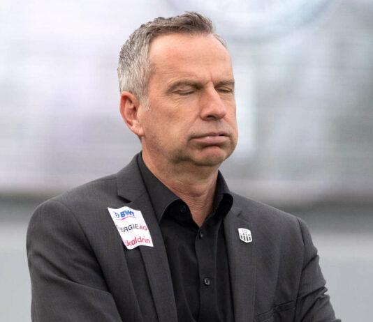 In der Kritik: LASK-Coach Dominik Thalhammer.