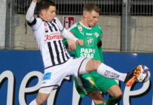 Peter Michorl (l.) und Co. hoffen, dass besagte Ente dem LASK die ersten drei Punkte gegen Tirol und ein Europacup-Ticket beschert.
