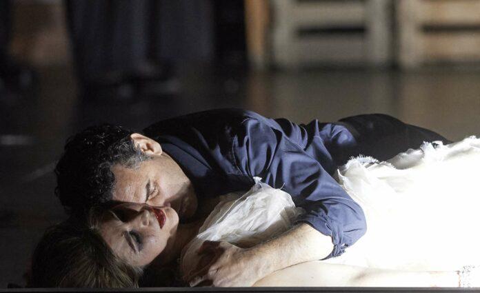 Nicole Car (Marguerite) und Juan Diego Flórez (Faust)