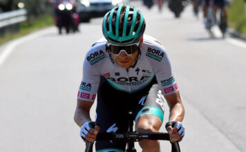 Felix Großschartner hofft, dass er auf einem der vielen schwierigen Berge der Konkurrenz enteilen und eine Etappe der Italien-Rundfahrt gewinnen kann.