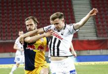 Johannes Eggestein (r.) hat mit drei Toren in zwei Spielen seinen Torriecher wieder gefunden und will das in seinem letzten Heimspiel für den LASK auch gegen Salzburg zeigen.