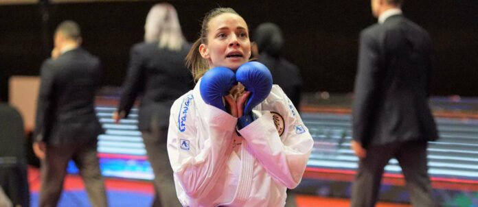 Riesige Erleichterung: Nach einer verkorksten Saison darf Bettina Plank doch beim vielleicht einzigen Karate-Olympia-Event dabei sein. 2024 ist die Sportart schon wieder nicht mehr im Programm.
