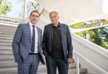 v.l.: BIG-Geschäftsführer Hans-Peter Weiss und JKU-Rektor Meinhard Lukas