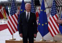 Die Europäer (links EU-Kommissionschefin von der Leyen, rechts Ratspräsident Michel) sind erleichert über Joe Bidens neuen Kuschelkurs, den es aber nicht ganz umsonst geben wird.