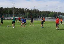Andreas Wieland und Rene Gartler (h.) sind trotz des LASK-Engagements noch bei den Juniors OÖ im Einsatz.