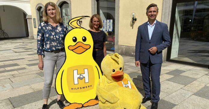 V. l.: Thurnhofer, Tischler und Hattmannsdorfer präsentierten die erweiterten Kinderbetreuungsangebote.