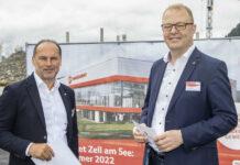 Geschäftsführer Thomas Panholzer und Manfred Hayböck (von links)