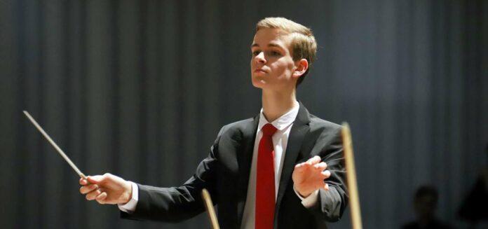 Selbstreflektiert, zielstrebig: Jung-Dirigent Matthias Achleitner