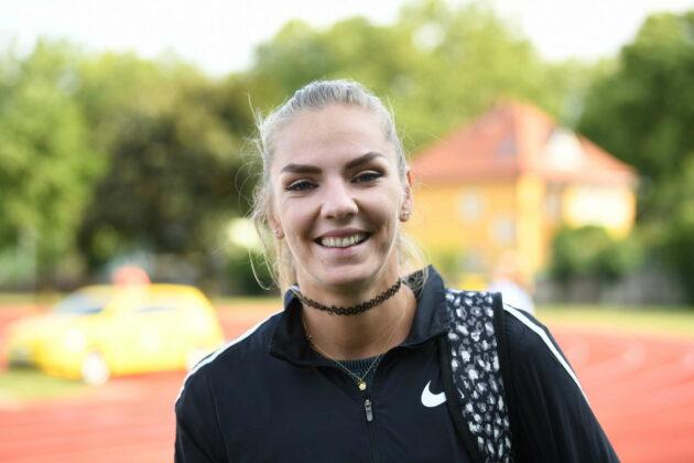 Lukas Weißhaidinger geht für Edelmetall volles Risiko, Ivona Dadic kann trotz RÜckenbeschweden noch lachen.