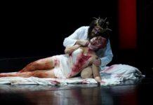 Schmerzhaft schön: Brett Polegato (Fanuèl) in der Abschiedsszene mit Alessandra Volpe als Rubria