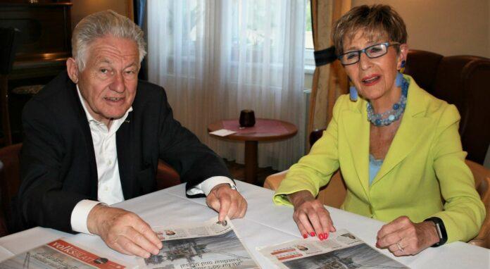 Am Rande des Landestages nahmen sich Seniorenbund-Landeschef Josef Pühringer und Bundesobfrau Ingrid Korosec fürs VOLKSBLATT Zeit.