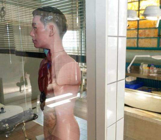 """Beim Kriminalisieren sollte man schon wissen, wo sich was bei einer Leiche befindet: Obduktionsraum beim Linzer """"Polizeirevier"""""""