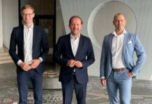 ÖVP-Stadtparteichef Vbgm. Bernhard Baier (M.) hat sich mit dem ehemaligen ÖH-Chef Mario Hofer und dem Volksschuldirektor Stefan Pirc (r.) auch Erfahrung und Kompetenz aus dem Schul- und Universitätsbereich auf die ÖVP-Liste für die Gemeinderatswahl in Linz geholt.