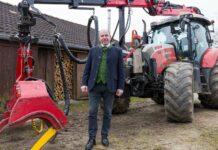 Agrar-Landesrat Max Hiegelsberger rät zu rascher Aufarbeitung der Sturmschäden