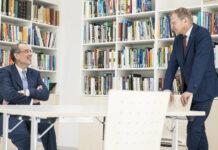 Wissenschaftsminister Heinz Faßmann und Landeshauptmann Thomas Stelzer haben Eckpunkte für die neue TU in Oberösterreich fixiert.
