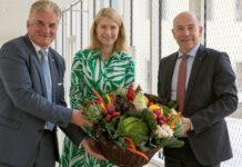Für mehr Regionalität (v. l.): OÖG-Geschäftsführer Karl Lehner; LH-Stv. Christine Haberlander und LR Max Hiegelsberger